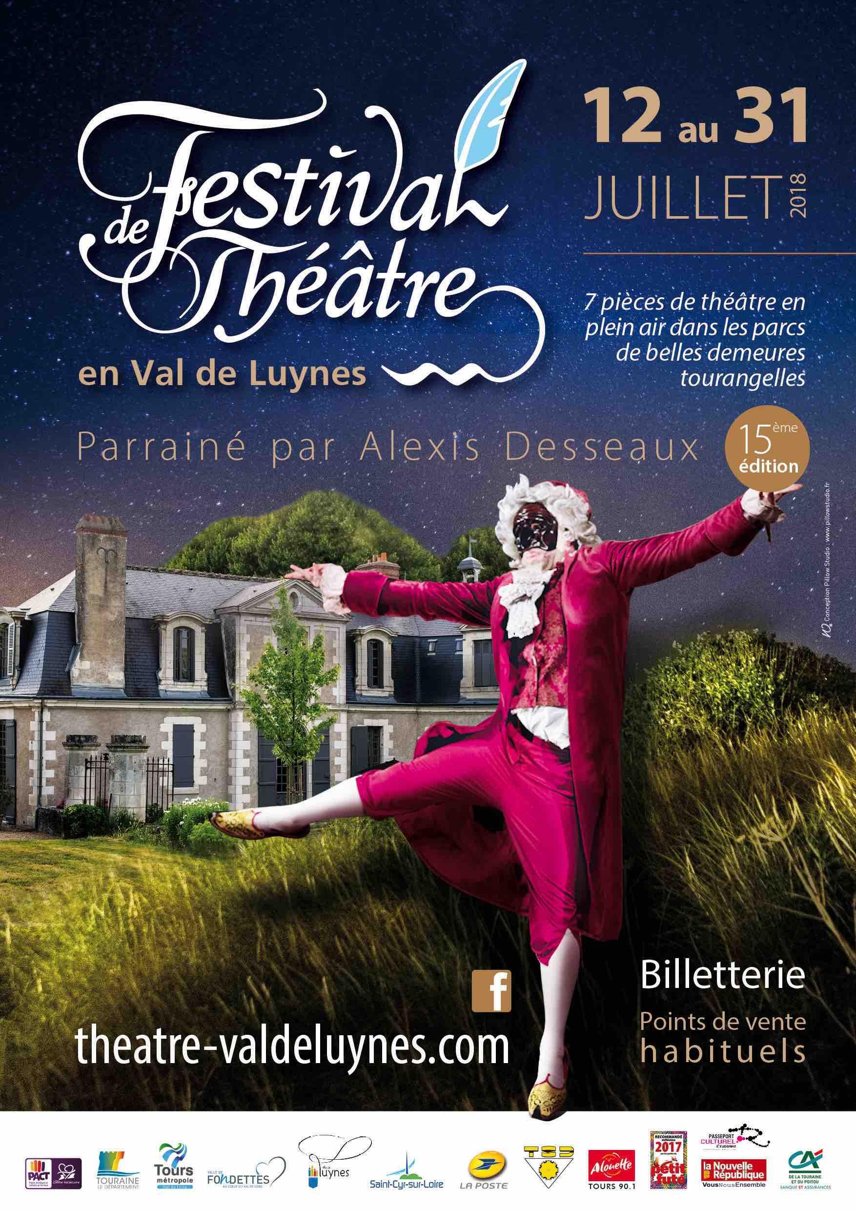 Festival de théâtre en Val de Luynes 2019