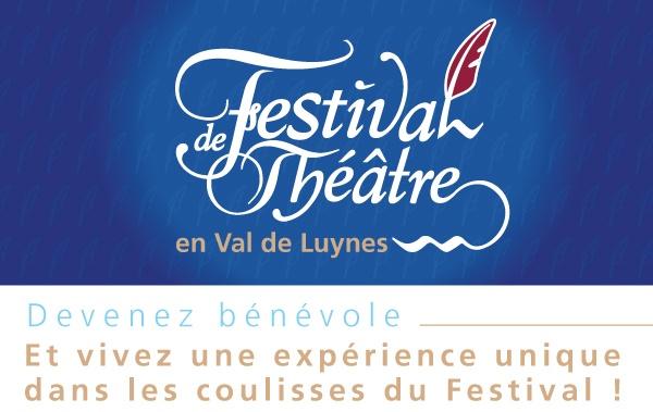 devenez bénévole du festival de théâtre