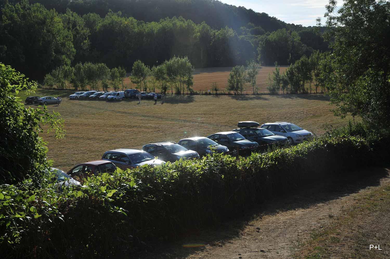 Parking de voitures