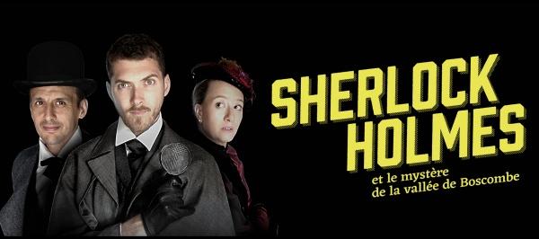 Affiche Sherlock Holmes et la Vallée de Boscomb